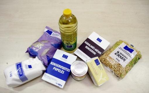 Dalinami maisto produktai labiausiai nepasiturintiems