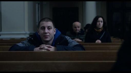 """Spalio 14 d. – vaidybinis filmas """"Šventasis"""" ir jo pristatymas"""