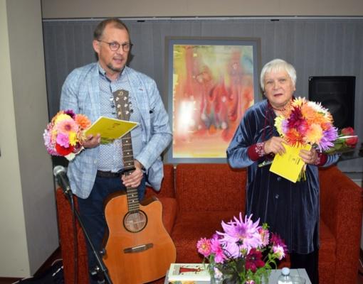Laisvės dainų vakaras su Veronika Povilioniene ir Vytautu V. Landsbergiu