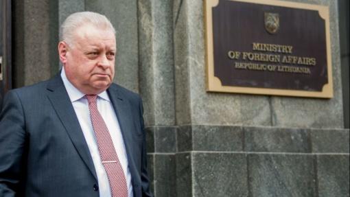 Į URM iškviestam Rusijos ambasadoriui pareikštas griežtas protestas
