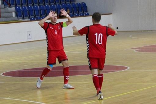 """""""Vyčio"""" salės futbolininkai dėl vietos Čempionų lygos finalo ketverte kovos Lietuvoje"""