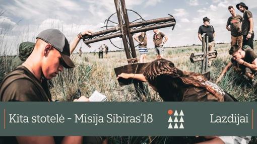 Misija Sibiras'18 Lazdijuose!