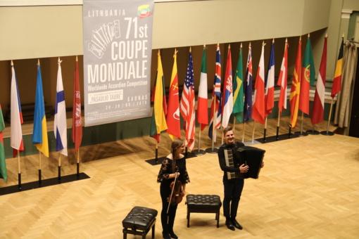 """Šiaulietė Greta Staponkutė ir duetas """"Tutto a Dio"""" - nugalėtojai pasauliniame """"Coupe Mondiale 2018"""" konkurse"""