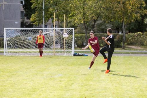 Sostinė augina futbolininkų kartą – atnaujino 10 futbolo aikštynų