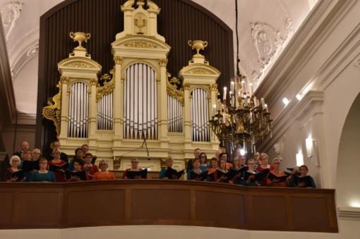 Norvegų dovana Marijampolei – du nuostabūs choro koncertai