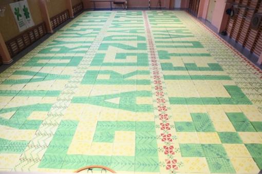 Lietuvos rekordui – dviejų sporto salių dydžio mozaika
