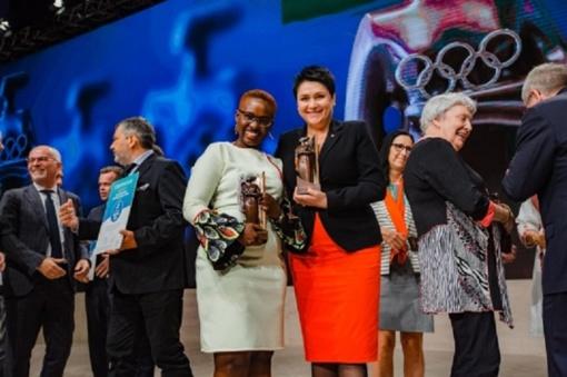 Istorinis įvykis Lietuvai: LTOK prezidentė Daina Gudzinevičiūtė išrinkta IOC nare