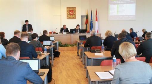 Tarybos posėdžio metu priimti sprendimai 41 klausimu