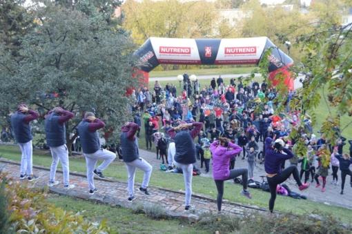 Panevėžiečiai minėjo kūno kultūros ir sporto dieną