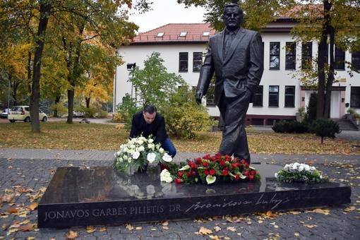 Pagerbtas Jonavos rajono garbės pilietis dr. Bronislovas Lubys