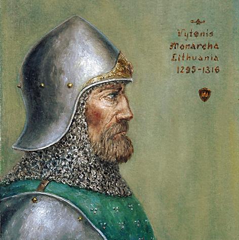KARALIUS MINDAUGAS IR KARALIUS GEDIMINAS - GIMINĖS