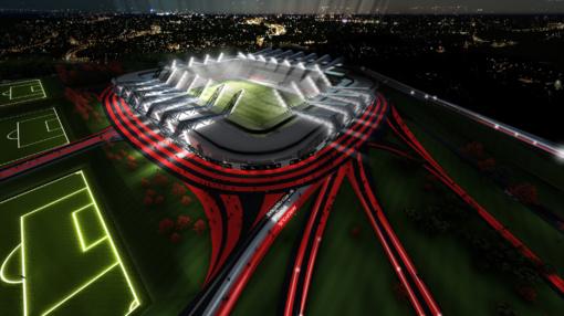 Uždegta žalia šviesa nacionaliniam stadionui