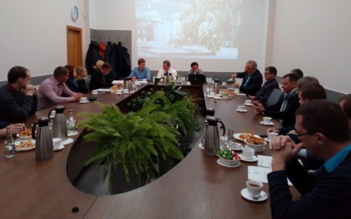 Verslininkai suinteresuoti gerinti miesto pramonės rajono infrastruktūrą