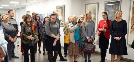 Trakų kultūros rūmuose duris atvėrė nauja meno galerija
