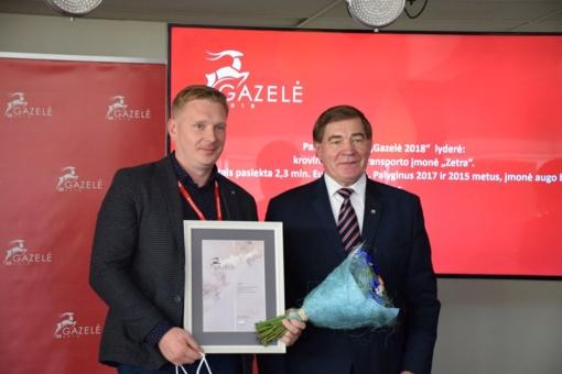 """Apdovanotos sparčiausiai augusios Panevėžio regiono """"Gazelės"""""""