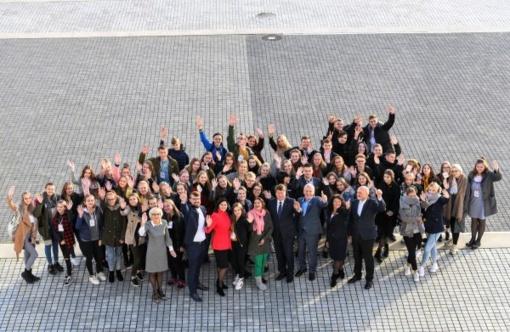 Jaunimo savivaldos dienoje – asistavimas Savivaldybės vadovams, diskusijos apie savanorišką veiklą ir aktyvų dalyvavimą