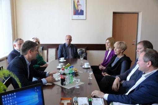 Šilalėje – vieno sėkmingiausių verslininkų Lietuvoje Ilja Laurso vizitas