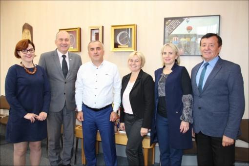 Bus plėtojami bendradarbiavimo ryšiai su savivaldybe iš Sakartvelo
