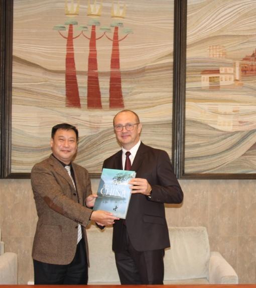 Tiesiami bendradarbiavimo tiltai tarp Kinijos ir Druskininkų savivaldybės