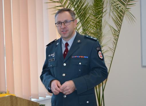 Šiaulių miesto ir rajono policijos komisariatas turi naują vadovą