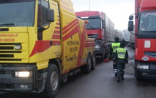 Jūrų uosto policijos grupė nustatė neblaivius ir geležinkelyje nesisaugančius vairuotojus