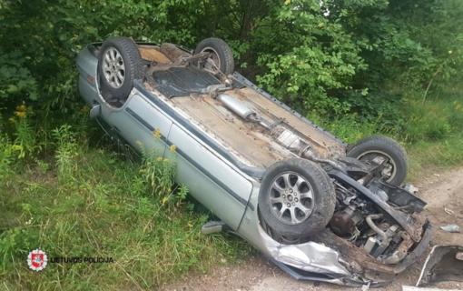 Ignalinos rajone eismo įvykį sukėlė neblaivi VSAT darbuotoja
