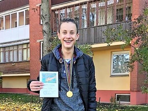 D. Grigalionio taurės prizininkas – Nikita Belovas