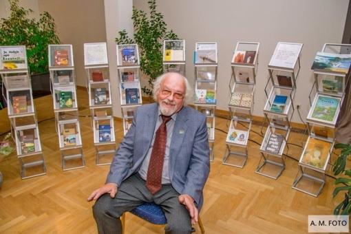 Rašytojas Rimantas Povilas Vanagas paminėjo jubiliejinius savo metus