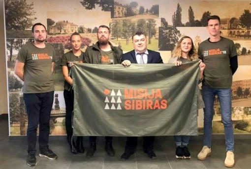 """Susitikimas su """"Misija Sibiras"""" dalyviais Lazdijuose"""