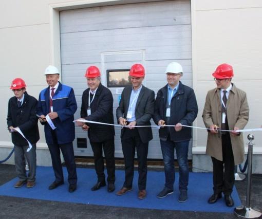 """Atidarytas AB """"Lifosa"""" gamybos cechas: bus gaminamas naujas produktas"""