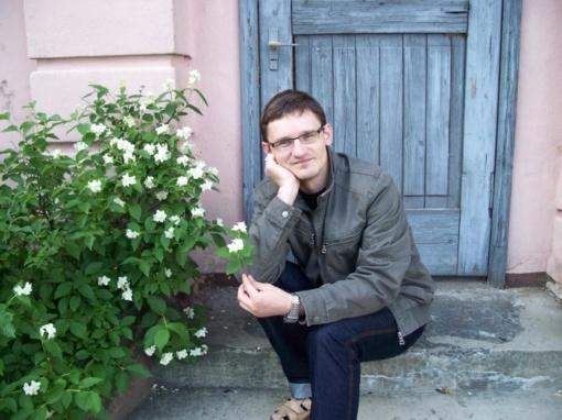 """Justo Jasėno poezijos knygos ,,Surink iš pakraščių"""" pristatymas"""