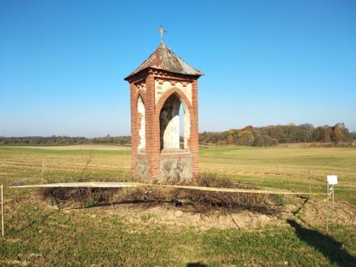 Pažymėta paveldo objekto teritorija