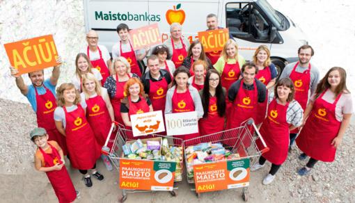 """""""Maisto banko"""" akcija apims šimtą Lietuvos miestų"""
