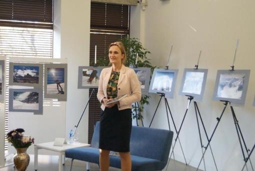 Viktorijos Čmilytės-Nielsen autobiografinės knygos pristatymas