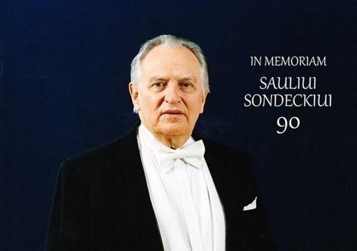Kviečia maestro Sauliui Sondeckiui skirtas koncertas