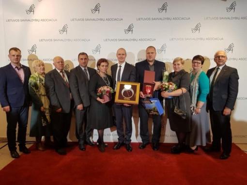 Vilkaviškio rajono savivaldybė apdovanota už lyčių lygybės skatinimą