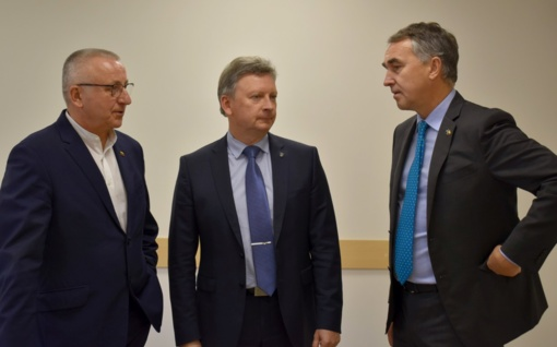 Plungėje lankėsi europarlamentaras Petras Auštrevičius