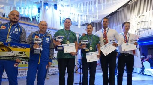 Alytiškis Deividas Sabonis – Pasaulio karpių žūklės čempionato nugalėtojas