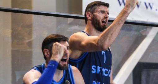"""""""Skycop"""" krepšininkai žengė į antrąjį Karaliaus Mindaugo taurės etapą"""
