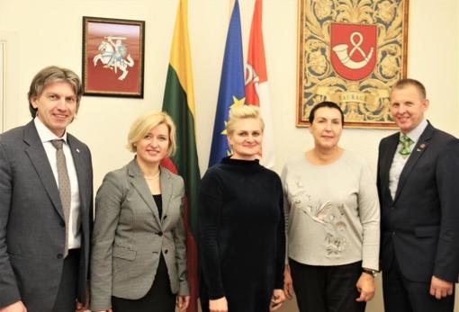 Su Kauno kolegijos vadovais aptartos bendradarbiavimo galimybės