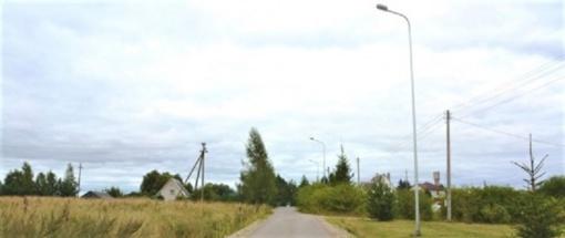 Vilniaus rajono kaimuose – vietinės reikšmės kelio infrastruktūros atnaujinimas