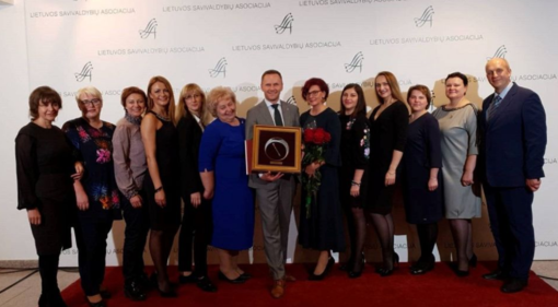 """""""Auksinės krivūlės"""" apdovanojimas už bendradarbiavimą su Lietuvos kariuomene ir NATO sąjungininkais"""