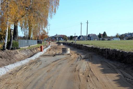 Apžiūrėti Šilalės rajone tvarkomi keliai ir šaligatviai