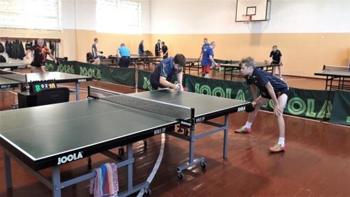 Prasidėjo Lietuvos stalo teniso čempionatas