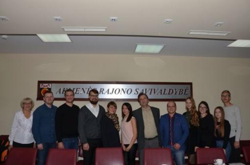Konsultacija Savivaldybės jaunimo reikalų tarybos nariams