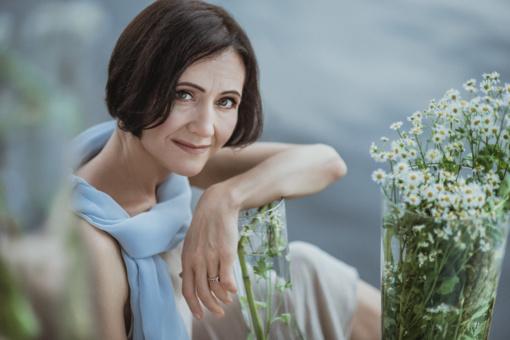 """Aktorė Birutė Mar: """"Būdamas laimingas, nori kurti grožį. Ir atvirkščiai, kurdamas, regėdamas grožį – tampi laimingu"""""""