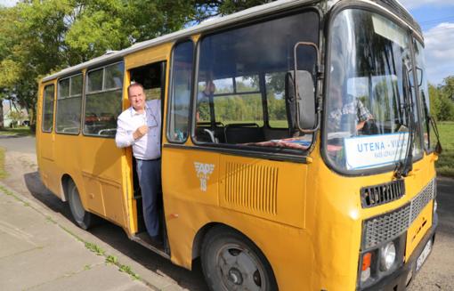 Kelionė autobusu – su viltimi apie šviesią ateitį