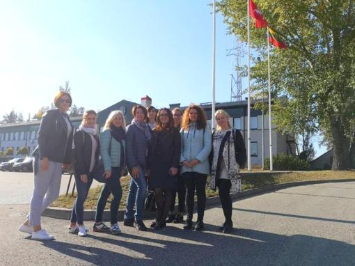 Pažintinė ekskursija į Vilniaus pasienio rinktinę