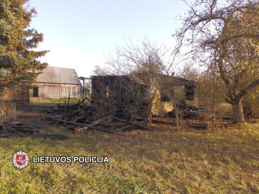 Į Smilgių kaimą įsisuko padegėjas?
