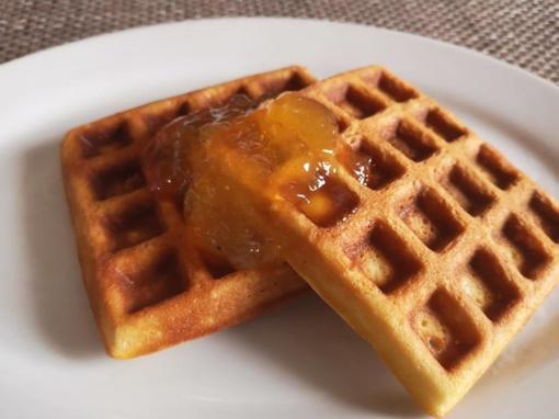 Sekmadienio pusryčiams kepkite vaflių